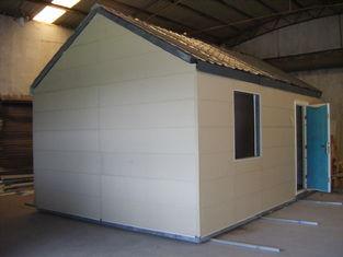 中国 軽い鉄骨構造の移動式モジュラー・ホーム/折り畳み式の  小さいモジュラー プレハブの家 サプライヤー