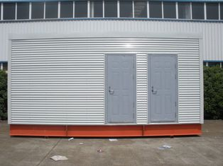 中国 移動式洗面所/オフィスのための多機能の鉄骨フレームのプレハブのモジュラー・ホーム サプライヤー