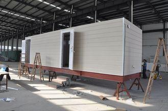 中国 番所のためのプレハブの移動式小屋の家/鉄骨フレームのプレハブのモジュラー・ホーム サプライヤー