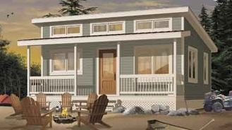中国 プレハブの家のキットは家のキット、小さい別荘の設計/Wpc の壁 Clading を組立て式に作りました サプライヤー