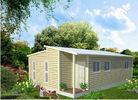 中国 プレハブの軽い鉄骨フレームのオーストラリアのおばあさんの平たい箱、1 軒の斜面の屋根の家 工場