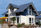 中国 ロシア様式のプレハブの家別荘/ライト鉄骨フレームは前に家を製造しました 工場