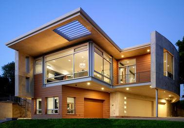 贅沢なプレハブの鋼鉄家/ライト鉄骨フレームのプレハブの金属の家等