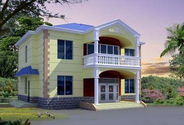 中国 セリウムの証明書のプレハブの鋼鉄家、軽い鉄骨構造の家の別荘 代理店