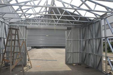 中国 鋼板のクラッディングによって取除かれる耐火性の軽い鉄骨フレームの金属車 代理店