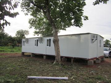 中国 家族の避難所、一時的な避難所のための白い/黄色の携帯用緊急の避難所 代理店