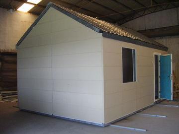 中国 軽い鉄骨構造の移動式モジュラー・ホーム/折り畳み式の  小さいモジュラー プレハブの家 代理店