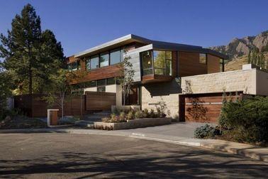 中国 現代設計は速く軽い鉄骨フレームの家、金属ハウジングを取付けます 代理店