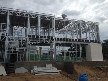中国 現代速いプレハブの家、組立て式に作られる金属を取付けまモジュールを収納します 代理店